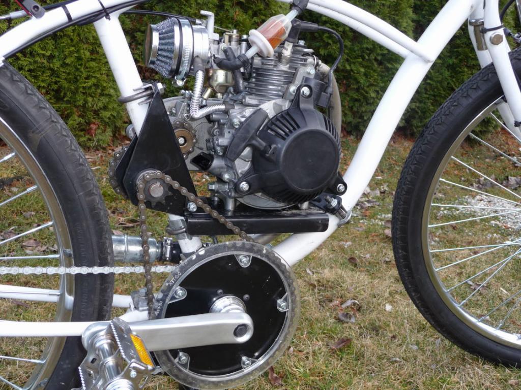 SBP 4 Stroke Shift Kit Grubee Gearbox | Motorized Bicycle