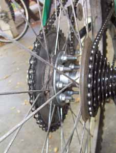 1. mounting rear drive sprocket motorized bicycle.jpg
