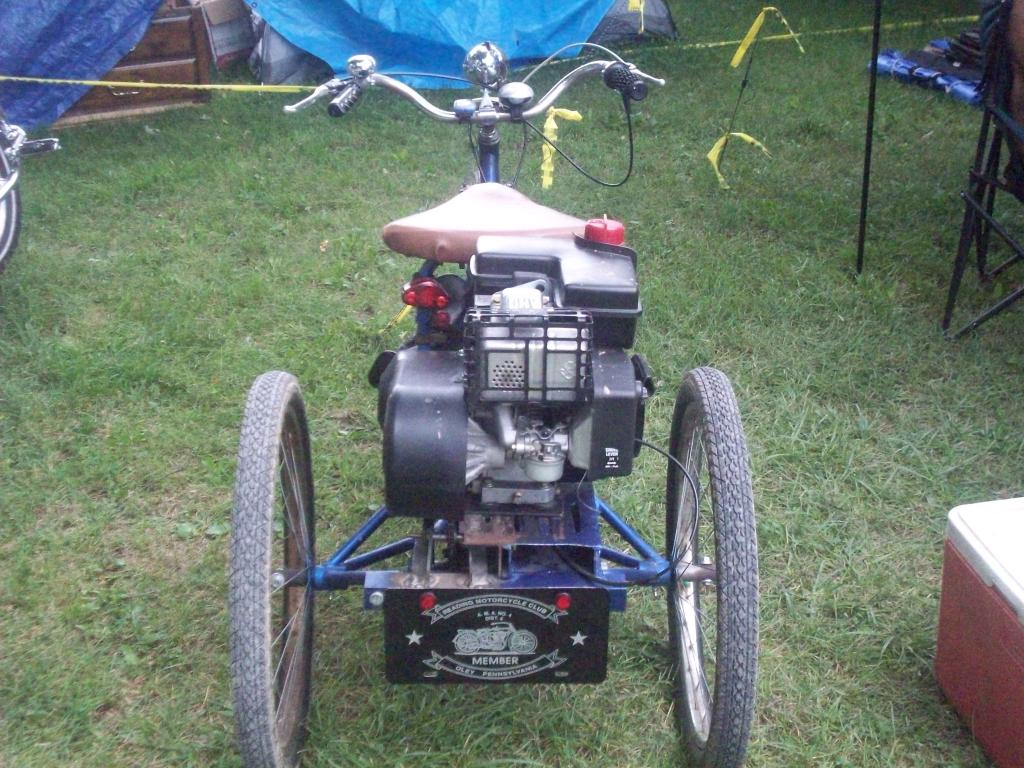 more pics 6 hp columbia tricycle | Motorized Bicycle Forum | Motored