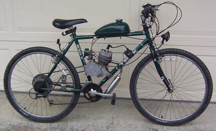 Image Gallery Motorized Mountain Bike