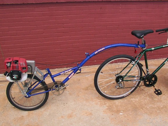 Does Anybody Make A Pusher For Resale Motored Bikes Motorized