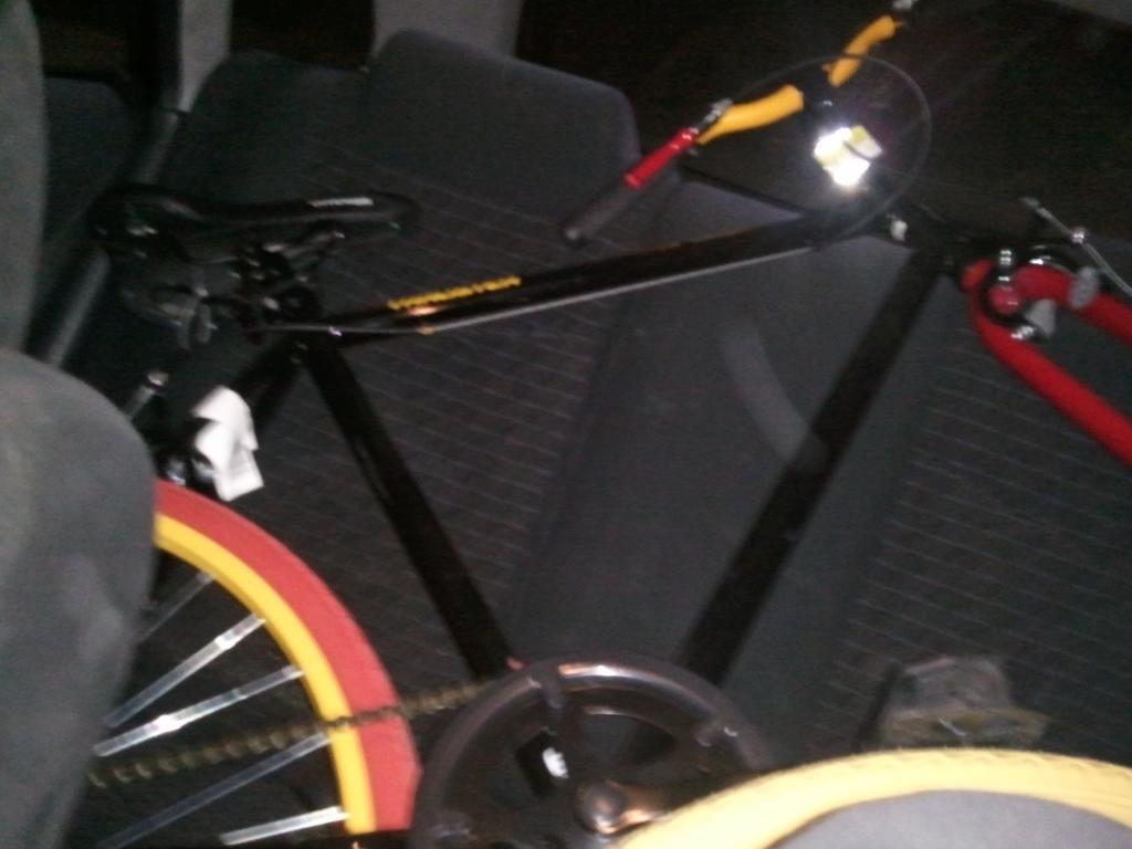Thruster 700c Fixie Build | Motorized Bicycle Forum | Motored Bikes