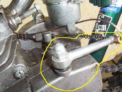 8. installing clutch cable on motorized bicycle.jpg