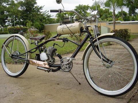 Kustom Kruiser Slick Daddy Motored Bikes Motorized Bicycle Forum
