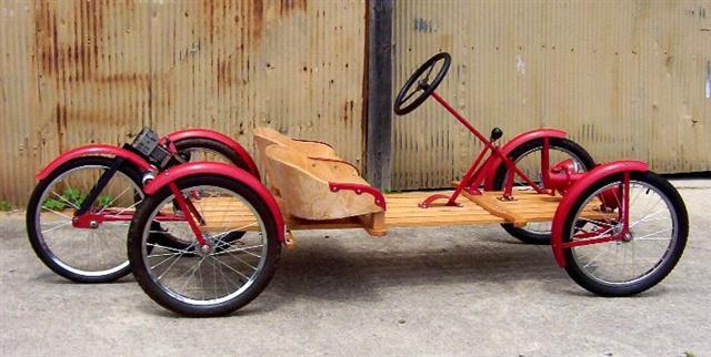 4 Wheel Rhoades Bike Honda 50 And Staton Chain Drive Motored