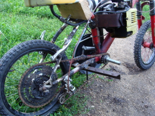 Frame Mount Weed Eater Bike Motored Bikes Motorized Bicycle Forum