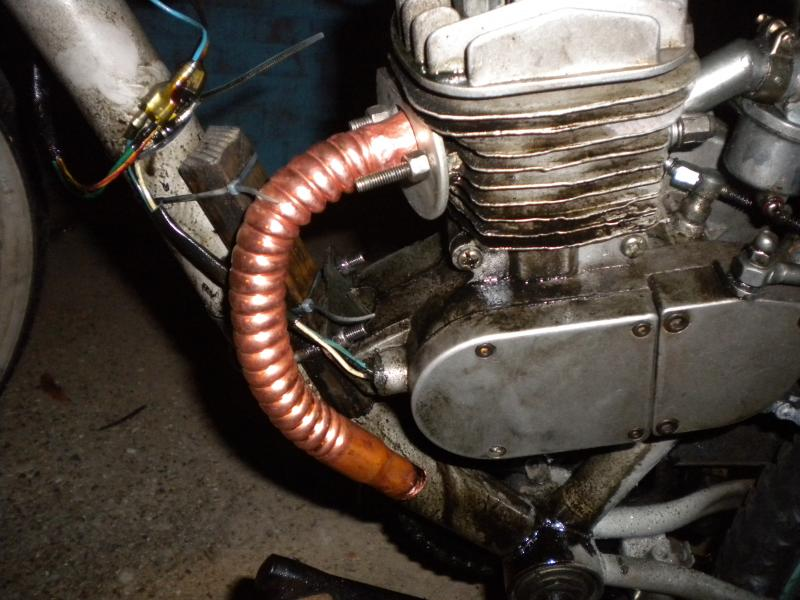 Exhaust - DIY Exhaust Pipe   Motorized Bicycle Forum