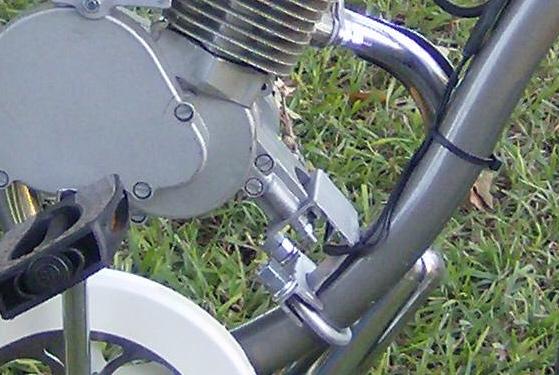 Exhaust - exhaust mount stud broken  | Motorized Bicycle