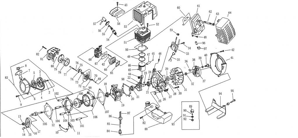 mitsubishi tle43 owners manual info motored bikes motorized mistubishi tle43 engine diagram jpg