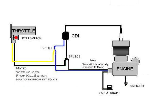 lincoln foot pedal wiring diagram motorized bicycle kill switch wiring guide | motored bikes ... #9