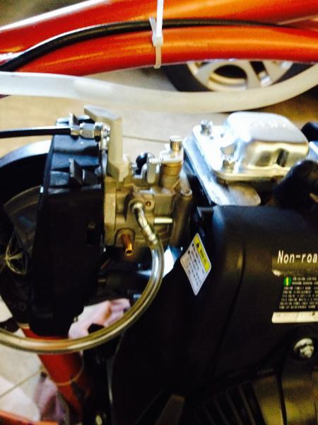 Huashengtaishan 4 stroke pouring gasoline | Motorized