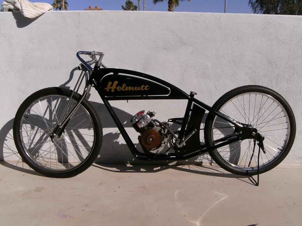 91 board track racer build re golden pigeon board Best frame for motorized bicycle
