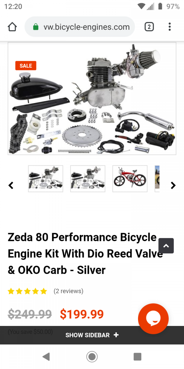 New 2cycle build kit reviews | Motorized Bicycle Forum