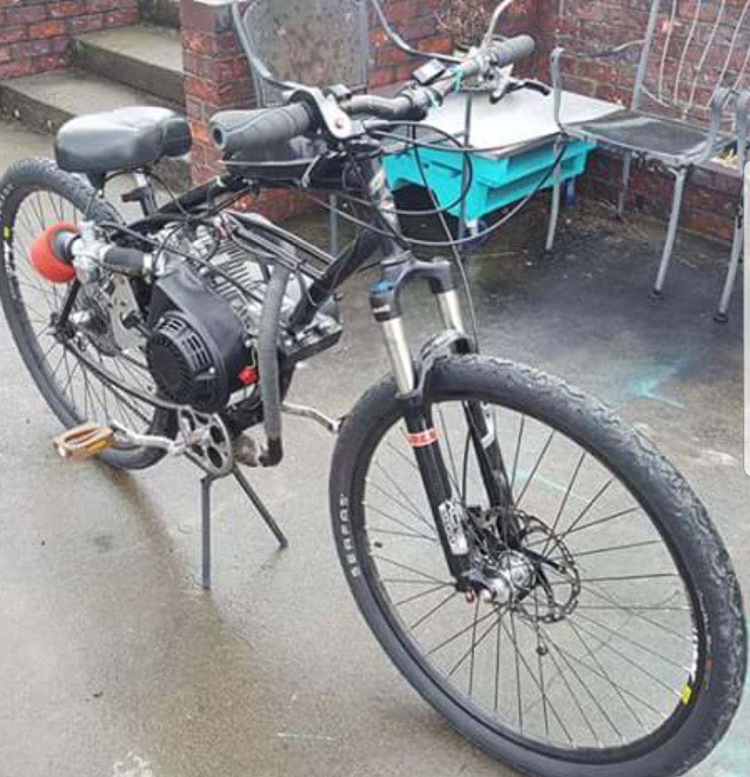 For Sale - SOLD   BUILT Predator 212 | Motorized Bicycle