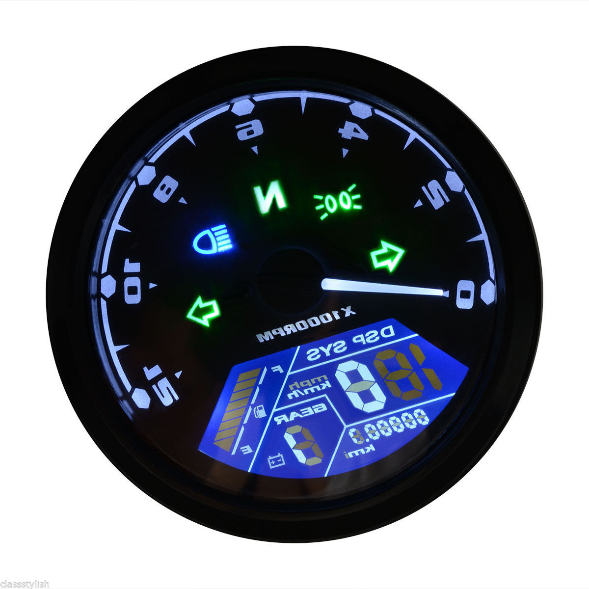 Pleasing 12 Ebay Tachometer Wiring Diagram Explained Mini Bike Scooter Wiring Database Gramgelartorg