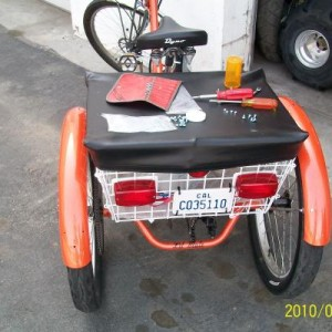 3-WHEEL'S BICYCLE! NEW MEMBER IN CA