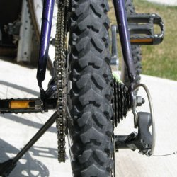 Wheel and Sprocket from a different angle