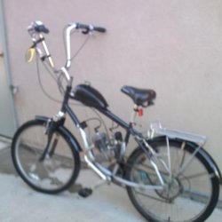 Schwinn Skyliner with fenders and apehangers