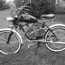 Black & White shot of the Whizzer