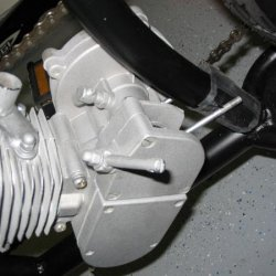 Rear Motor Mount (not fitting quite right.  Hmm - maybe some installation suggestions from the forum or Johnny C?)