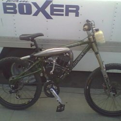 BoXer's race bike