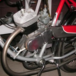 Schwinn with the Mikuni carb.