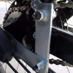 right torsion bar closeup