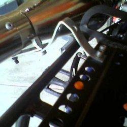 Exhaust mounted