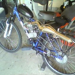 As my bike was