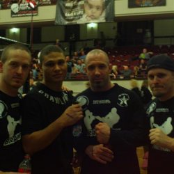 Here is a picture of me and my friends. From left to right: