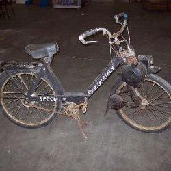 solex - bought at auction, motor seized. have completely disassembled, sandblasted and primered, new tires, tubes, piston, rod, honed the cylinder, an