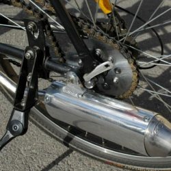 MFM Powercore 2 silencer this is used by Honda CR80
