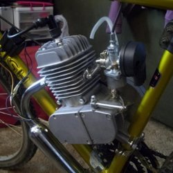Close up shot of PowerKing 80cc