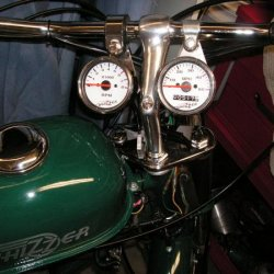 The British Racing Green whizzer Tack