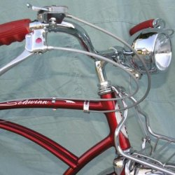 '57 Schwinn Corvette-NOS Delta Ball Light!