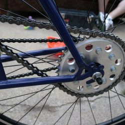 Rebel gears 36 tooth sprocket.