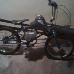 my motorised bmx hit 65kmh on it