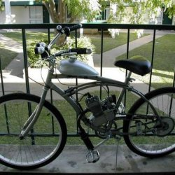Huffy Cruiser with 66CC 2-stroke