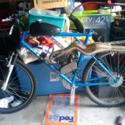 My bike now, 80% complete