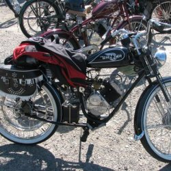There were many unique Bikes here's Just One