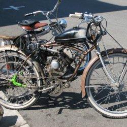 Harrys Bike from Washington, a friend Of Bill Greens