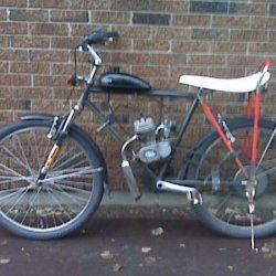 This is now my primary driver, a bike I said would not get a motor, but things change.