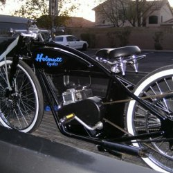 The American Made Helmutt Motor Assisted Bicycle