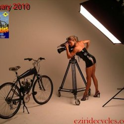 February 2010 EziRide Cycles calendar shoot.