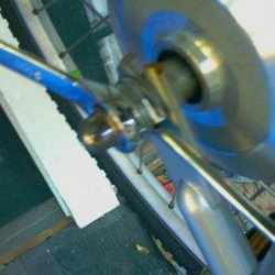 IMAG0393- disconnecting to other side of the axel retention bolt assembly