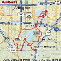 joe pool map1 http://www.mapmyride.com/find-ride/united-states/tx/dallas  Looking to ride with Dallas area motor bicyclists and mountain bike DORBA
