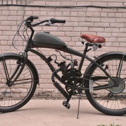 Completed Motored Bike