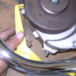 Helmutt Whizz Banger Motor mount.