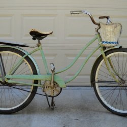 This is how it started it's life.  A 1952 Hawthorne...
