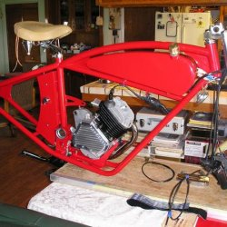 Whizzer Build in the house 005